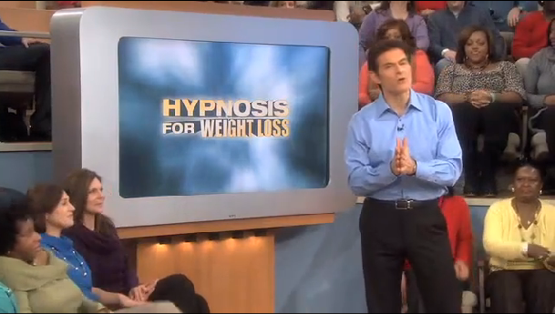 hypnosis and weight loss dr oz