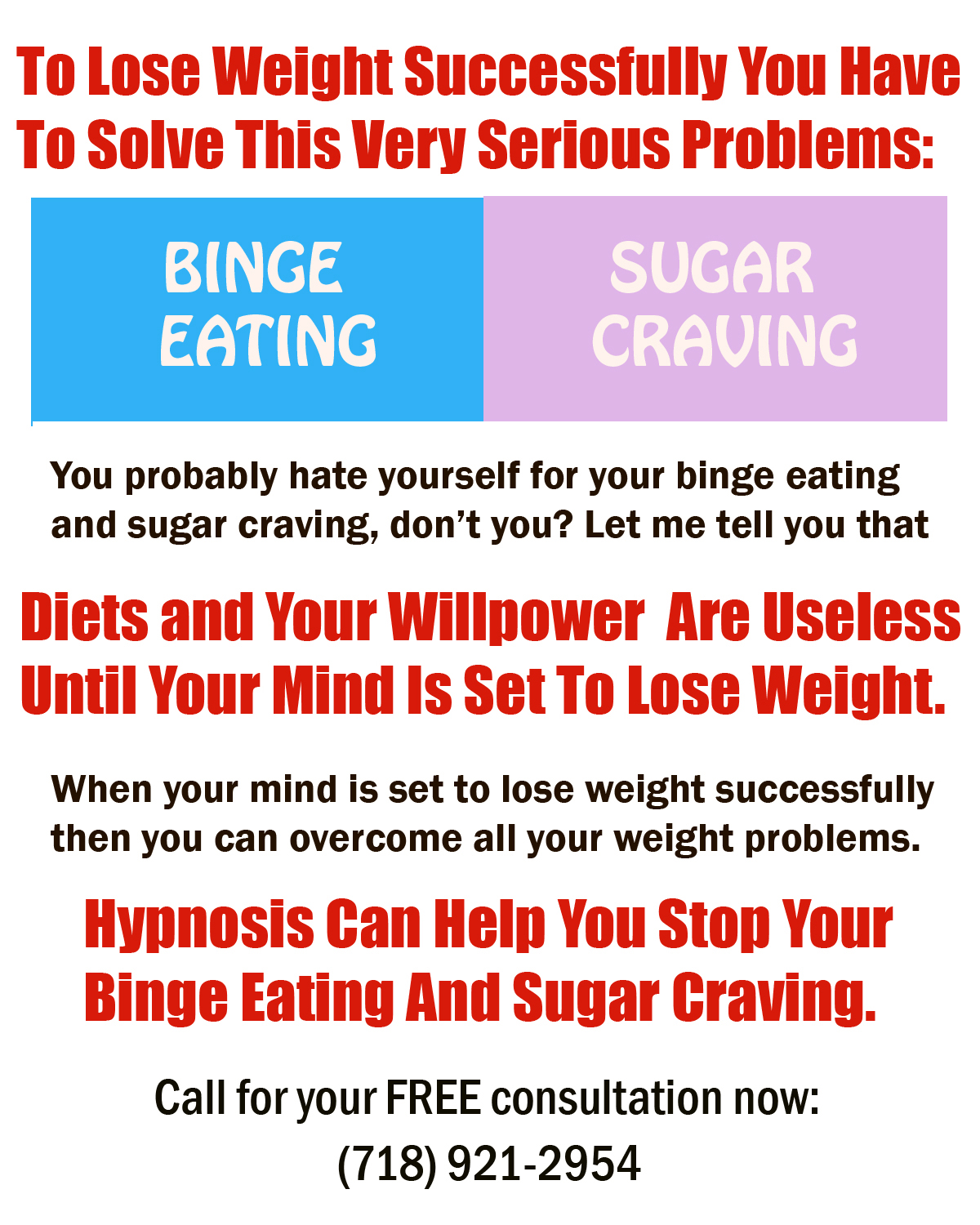 lose weight with hypnosis in nyc Archives - NYC Hypnosis: (718) 921-2954